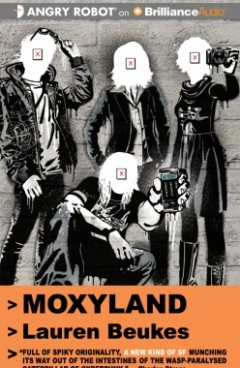 Moxyland audiobook cover