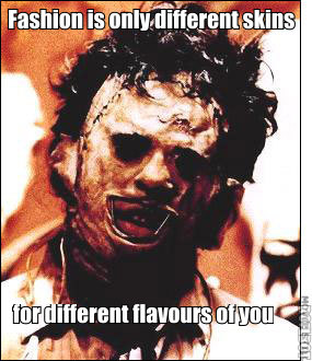 fashion leatherface