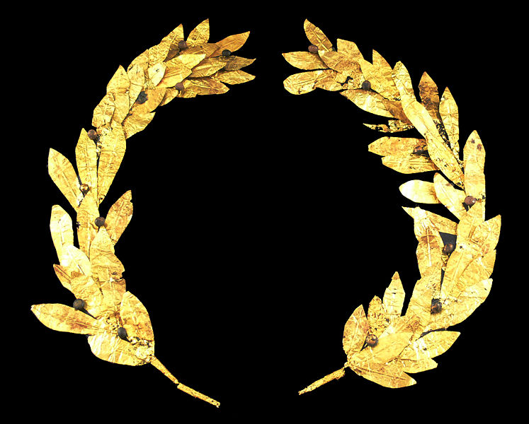 laurel wreath wikimedia commons