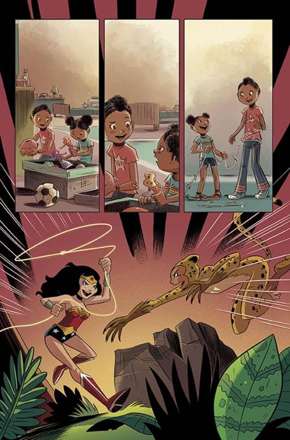 wonder woman mike maihack DC Comics