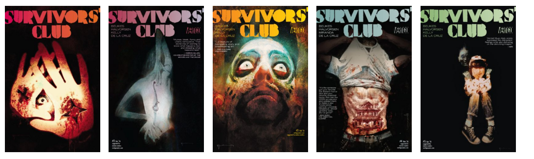 Survivors Club covers 1-5